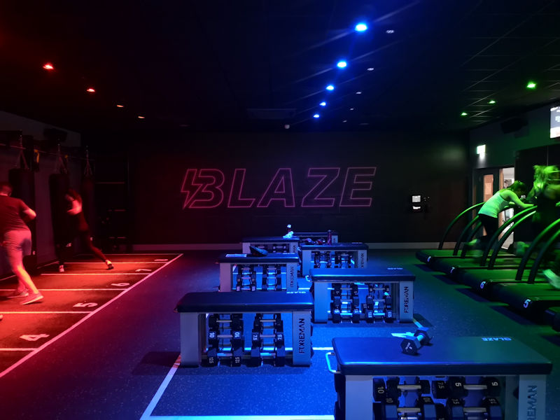 Blaze Instructors Class : taken May 15th, 2019